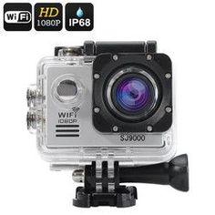 SJ9000 Wi-Fi HD Action Camera (Silver)