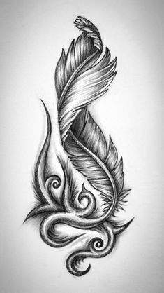 30 feather tattoo ideas