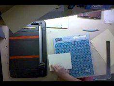 File Folder Mini Scrapbook Album Tutorial