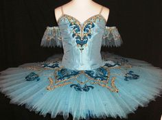 New Collection 2016! This professional platter tutu is created for the role of Princess Florina in the Blue Bird Variation, but can also be used for other classical ballets. The bodice is created in s