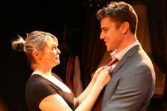 Larisa Oleynik and Donovan Patton star in the L.A. Premiere of BE A GOOD LITTLE WIDOW by Bekah Brunstetter and directed by Sara Botsford at ...