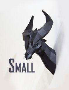 Little dragon noir - PREMIUM artisanat bow