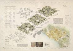 Déborah López Lobato. [ Thesis ] B.Arch // Transerai #10_Exploded Perspective