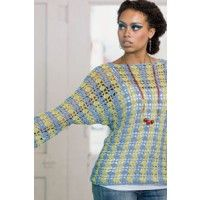 Bubbles Sweater designed by Jill Wright. | InterweaveStore.com