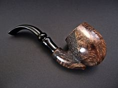 XL FREEHAND BRIAR PIPE (FILTER Ø9) HAND MADE T. POLINSKI FROM POLAND in Collectibles, Tobacciana, Pipes | eBay