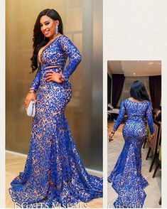 Nigerian Lace Styles For Wedding [April African Lace Styles, African Lace Dresses, Latest African Fashion Dresses, African Dresses For Women, African Wedding Dress, African Print Fashion, Africa Fashion, African Attire, African Prints