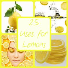 25 Uses For Lemons - From Crayons to Coupons