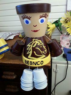 wendy's Broncos pot girl