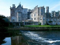 Adare Manor, County Limerick, Adare, Ireland. That's the river Meheig.
