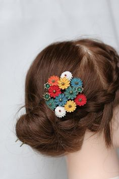 Pin on Kanzashi Ribbon Art, Fabric Ribbon, Ribbon Crafts, Flower Crafts, Diy Fashion Accessories, Hair Accessories For Women, Handmade Accessories, Cloth Flowers, Fabric Flowers