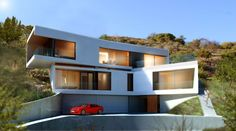 Situated on one of the last remaining pieces of unbuilt land in Los Feliz and surrounded by Griffith Park, the two and a half acre property enjoys a long swe...