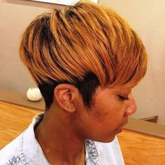 60 Great Short Hairstyles for Black Women Short Black Haircuts - Black Haircut Styles Black Haircut Styles, Short Black Haircuts, Short Hair Cuts, Pixie Cuts, Short Pixie, Medium Bob Hairstyles, Black Girls Hairstyles, Weave Hairstyles, Relaxed Hairstyles
