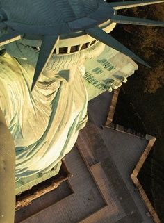Statue of Liberty, New York City, United States.