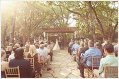 Wildwood Inn, Denton TX  www.WaltersWeddingEstates.com  #outdoorceremony  #wedding
