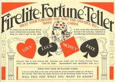 Fortune Teller, Vintage | Flickr - Photo Sharing!