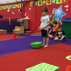 Rapid fire ball toss! These five and six year old boys are having fun while working hand/eye coordination and focusing on a task. Each ball was worth 10 points which they added up at the end. It was fun to watch them try to out perform their previous turn and count by tens in the process. #baseballkids #gymnastics #sports #kids #playball #preschool #preschoolgymnastics Boys Gymnastics, Preschool Gymnastics, Working Hands, 10 Points, Old Boys, Pre School, Count, Basketball Court, Have Fun
