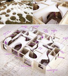 The Snow Apartment on Behance