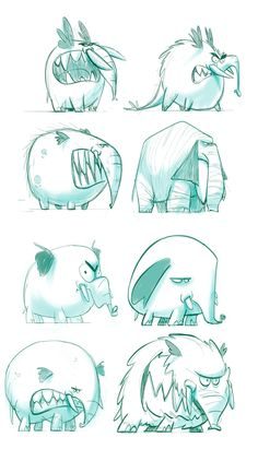 Conceptual development, character design, screen... by DAVID MARCELO ZAMORA, via Behance