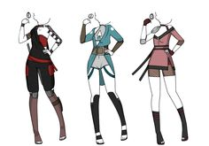 Clothing set 5 by Jolly-Jessie.deviantart.com on @DeviantArt