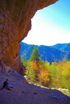 Alum Cave in the Great Smoky Mountains National Park
