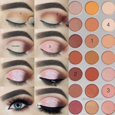 The question how to apply eyeshadow has very many answers. Yet, we managed to do our best and gather all the perfect ways of eyeshadow application in one place and we are more than willing to share our knowledge with you! Use it to your advantage, make sure your eyes always look gorgeous! #makeup #makeuplover #makeupjunkie #eyeshadow