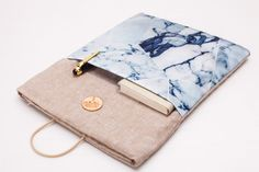 Macbook Air 13 Case with Marble Patterns 13 by BravoStudioDesign