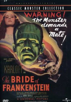James Whale's BRIDE OF FRANKENSTEIN, the sequel to his classic FRANKENSTEIN, is considered one of the best horror films of all time. After the Monster (Boris Karloff) is trapped in a windmill fire, Dr