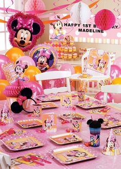 Minnie's 1st Birthday Ultimate Party Pack