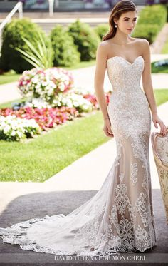 2017 David Tutera wedding dresses for Mon Cheri