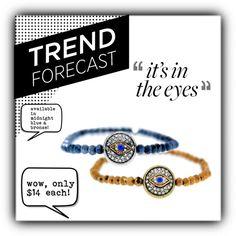 Trend Report: Evil Eye Jewelry! by tresorsdeluxe #tresorsdeluxe #tresorsdeluxejewelry #tresorsdeluxeblog #tresorsdeluxebling #fevil eye #jewelry #boho #chic #love #rhinestones #handmade #handcrafted #luxe #love #fall2015 #fallstyle #dash