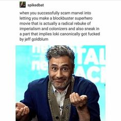 taika watiti is an icon fight me