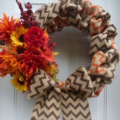 Fall Burlap Wreath/Thanksgiving Wreath/Fall Grapevine Wreath/Fall Door Wreath/Grapevine Wreath/Fall Front Door Wreath/Fall Wreath/Chevron by oneofakindwreath. Explore more products on http://oneofakindwreath.etsy.com