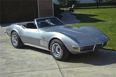 Sold* at Scottsdale 2011 - Lot #415.2 1970 CHEVROLET CORVETTE CONVERTIBLE