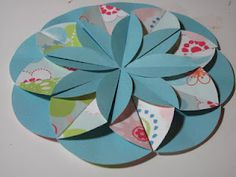 easy handmade floral design with paper modular paper flower #flowers #decorations
