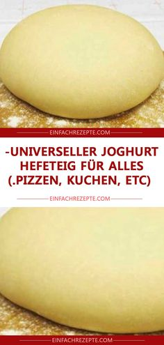 Universal yoghurt yeast dough for everything (pizzas, cakes, etc.) - Universal yoghurt yeast dough for everything (pizzas, cakes, etc. Summer Desserts, No Bake Desserts, Dessert Recipes, Homemade Frappuccino, Coconut Milk Smoothie, Pizza Cake, Natural Yogurt, Easy Smoothie Recipes, Pumpkin Spice Cupcakes