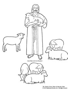 clipart of the parable of the sheep and goats - Google Search ...