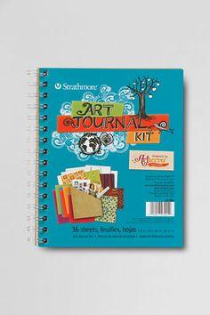 Gifts Under $30: Kids' Art Journal from Lands' End - $14 #wishpinwin