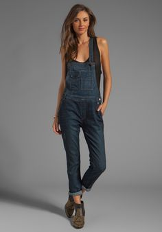 FREE PEOPLE Overall in Brady Wash at Revolve Clothing - Free Shipping!