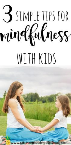 Are you curious about how to teach kids mindfulness? These 3 simple tips for mindfulness with kids will help you incorporate mindfulness in every day life! Guided Mindfulness Meditation, Meditation Scripts, Meditation Videos, Mindfulness For Kids, Mindfulness Activities, Meditation Practices, Mindful Parenting, Gentle Parenting, Parenting Advice