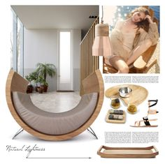 """NATURAL LIGHTNESS"" by tiziana-melera ❤ liked on Polyvore featuring interior, interiors, interior design, home, home decor, interior decorating, Thirstystone, Georg Jensen and Dot & Bo"
