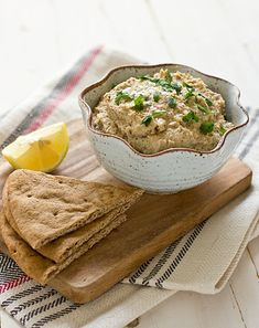 Smoky and extra-special, this Roasted Cauliflower Hummus will make you forget about chickpeas.