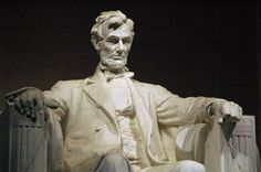 """Abraham Lincoln,"" 1920, Daniel Chester French"