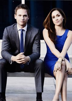 Suits - Mike Ross Rachel Zane (Patrick J Adams Meghan Markle) Serie Suits, Suits Tv Series, Suits Tv Shows, Suits Usa, Mens Suits, Harvey Specter, Suits Season 5, Season 3, Suits Episodes