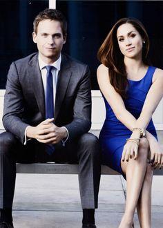 Suits - Mike Ross & Rachel Zane (Patrick J Adams & Meghan Markle)