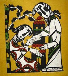 Indigenous Jesus: Artist Profile: Watanabe Sadao