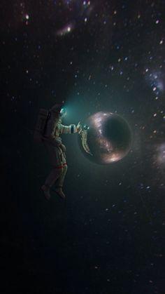 Space Phone Wallpaper, Galaxy Wallpaper, Wallpapers Geek, Space Artwork, Space Space, Diy Pinterest, Astronaut Wallpaper, Vaporwave Wallpaper, Astronauts In Space