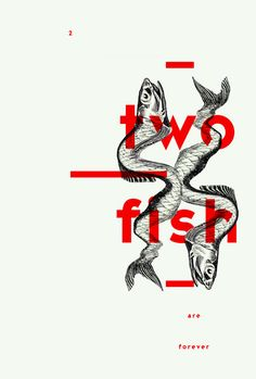 Creative element for 'two fish' by unknown graphic designer. via Celine Singh - - Creative element for 'two fish' by unknown graphic designer. via Celine Singh Inspiration Creative element for 'two fish' by unknown graphic designer. via Celine Singh Graphisches Design, Buch Design, Layout Design, Print Design, Good Logo Design, Design Room, Design Elements, Graphic Design Posters, Graphic Design Typography