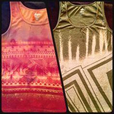 FreeLoad Custom #bleachedapparel #tanks #fashion #style #swag #lines #patterns #textilesdesign
