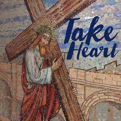 Take Heart--- jerusalem Mosaic  #vrsly