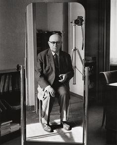 © Stefan Moses / Nimbus Verlag: Theodor W. Adorno, Philosoph, Frankfurt/M. 1903 - 1969 Brig, Schweiz